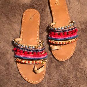Slip on sandles